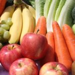 vegetarien vegan fruits legumes